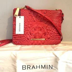 Brahmin Perri Ribbon Melbourne Leather Crossbody